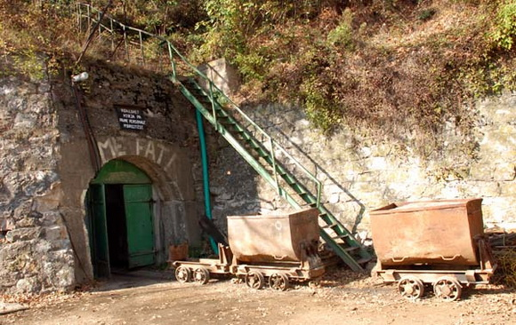 Ulaz u rudnik Stari trg u Trepči