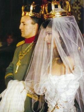 Vjenčanje Cece i Arkana 1995.