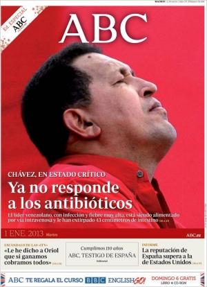 ''Chávez u kritičnom stanju; više ne reagira na antibiotike''